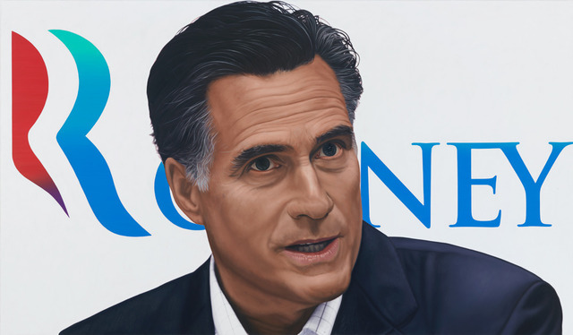 , 'Vote Mitt Romney,' 2012, Dallas Contemporary