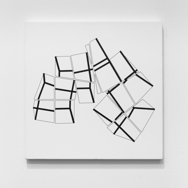 Manfred Mohr, 'P-359-H', 1984-1985, bitforms gallery