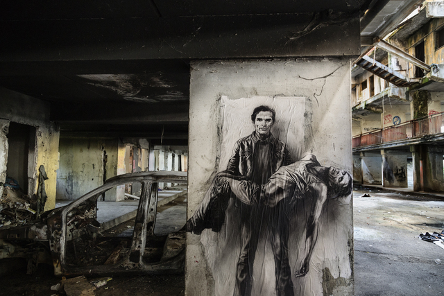 , 'Si je reviens. Pasolini [Scampia, 4],' 2015, Art Bärtschi & Cie | Geneva, Switzerland