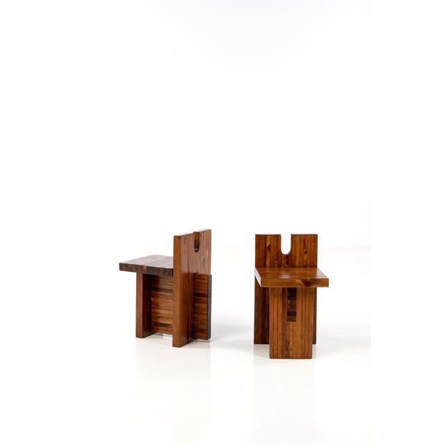 Lina Bo Bardi, 'Pair of chairs', circa 1970, PIASA