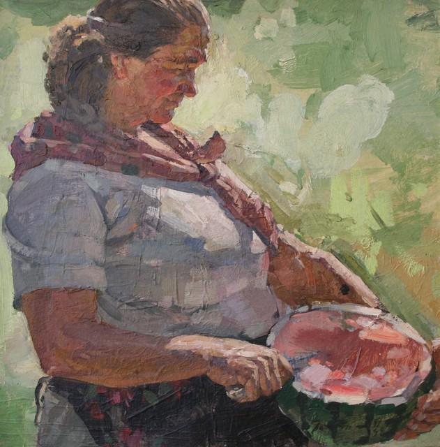 Viktor Petrovich Patrin, 'Peasant and watermelon', 1981, Surikov Foundation