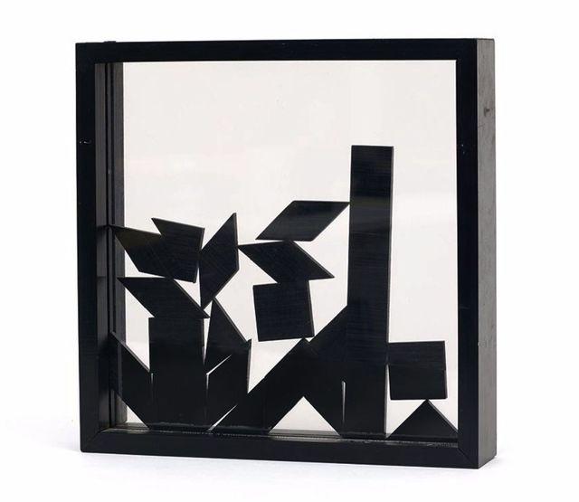 Enzo Mari, 'Ogetto a Composizione Autocondotta (Self-composed object)', 1959, Zucker Art Books
