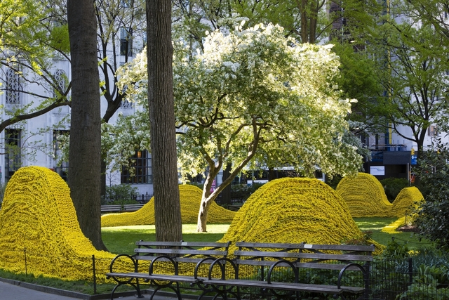 , 'Yellow ,' 2013, Madison Square Park