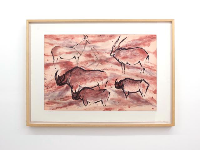 , 'Les Eyzies,' 1985, C. Grimaldis Gallery