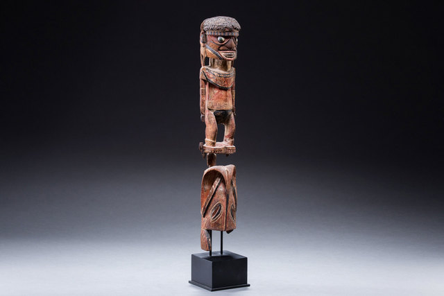 Oceanic Art, 'New Guinea Malangan Sculpture, New Ireland, Oceanic Art, New Guinea Art, Tribal Art from Dutch Surrealist Joop Moesman', late 19th century, Michael Hamson