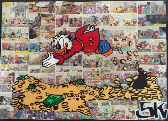 , 'Cartoon World,' 2016, Artspace Warehouse