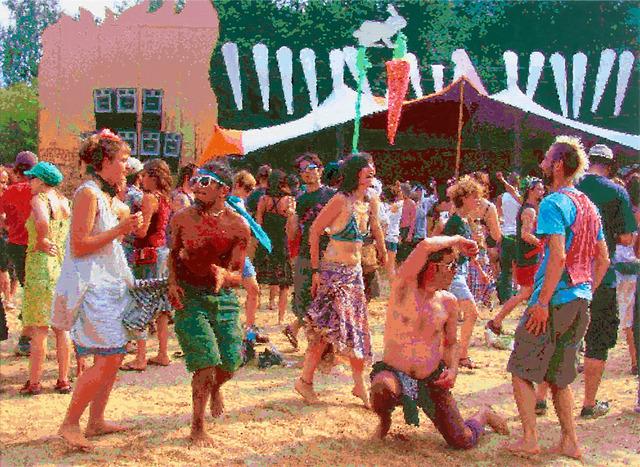 , 'Tanz auf der Seebühne,' 2015, Lachenmann Art