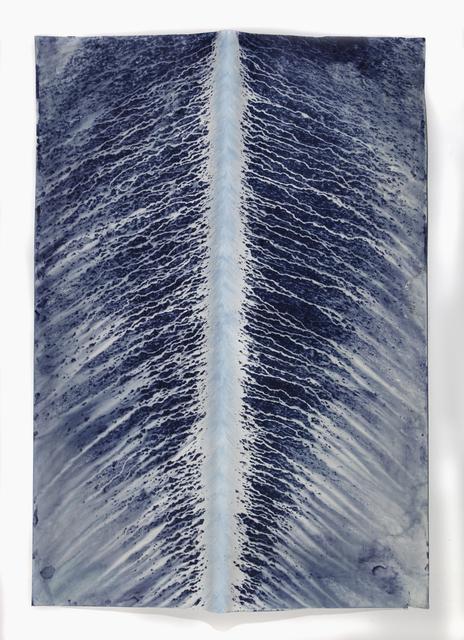 Meghann Riepenhoff, 'Ecotone #577 (Bainbridge Island, WA 01.11.19, Draped, Rain and Hail Showers)', 2019, Jackson Fine Art