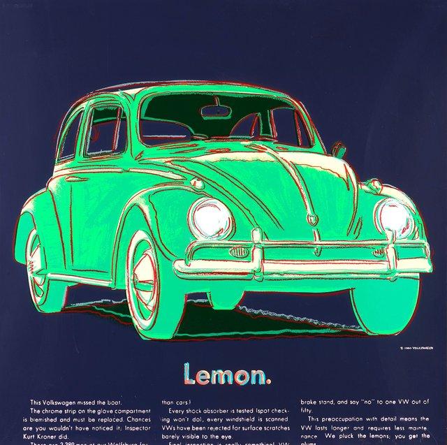 Andy Warhol, 'Volkswagen', 1985, OSME Fine Art