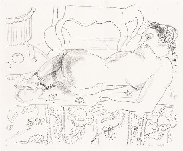 Henri Matisse, 'Nu Couché Sur Sol Fleuri (D. 503)', 1929, Doyle