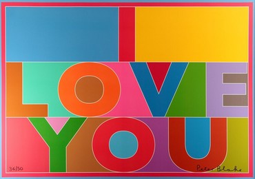I love you (Canvas)