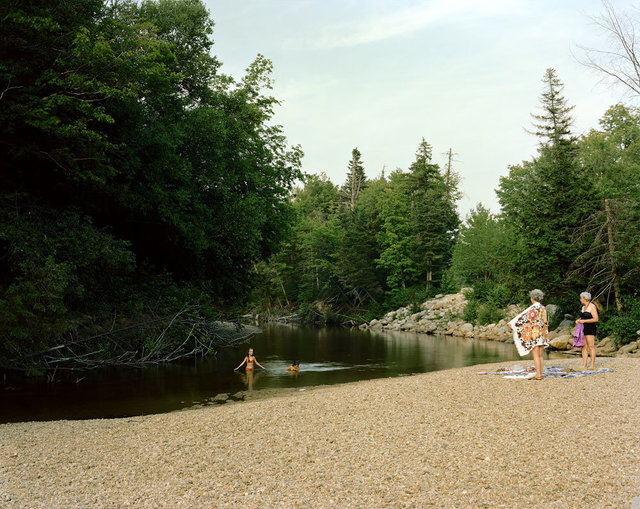 , 'Swift River, White Mountain National Forest, New Hampshire, July,' 1980, Luhring Augustine