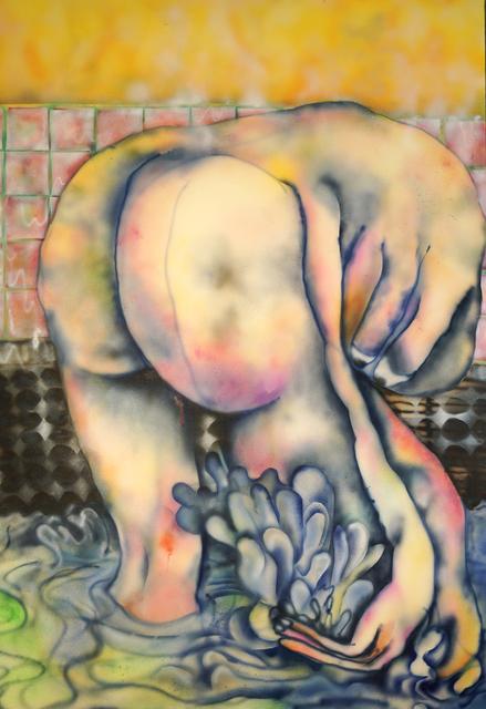 , 'En la ducha,' 2018, PIEDRAS