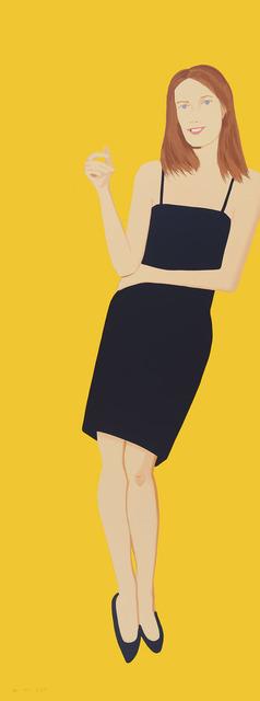 Alex Katz, 'Black Dress 4 (Sharon)', 2015, Hamilton-Selway: Collector's Summer Preview
