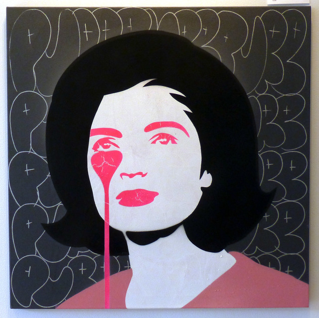 , 'JFK's Nightmare - Jackie Kennedy Cracked,' 2017, Vertical Gallery