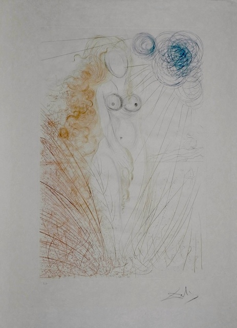 Salvador Dalí, 'Hommage a Albrecht Durer Birth of Venus', 1971, Print, Etching, Fine Art Acquisitions Dali