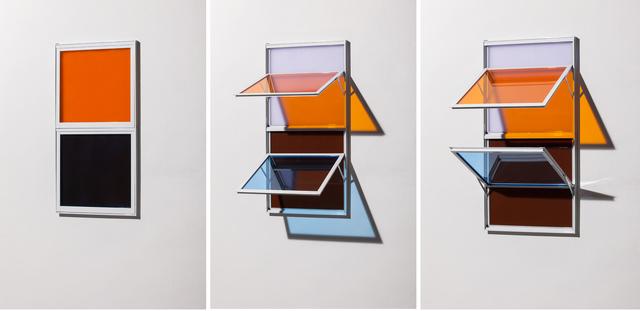, 'Dupla dupla vertical {LA217 + AZ544 + VI713 + MA1204},' 2014, Galeria Nara Roesler
