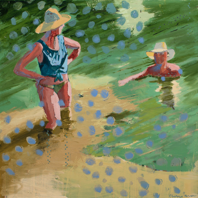 , 'Lake for Two,' 2018, Sue Greenwood Fine Art