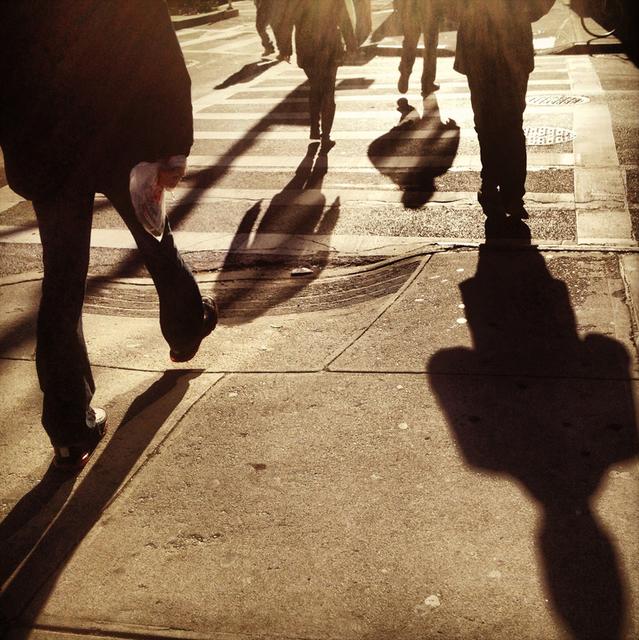 , 'City Shadows, NYC,' 2009, Machamux