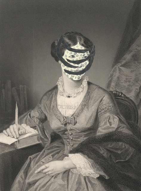 , 'Mrs. William Hawthorne 1860/2015 from the series de-identified,' 2014, Tracey Morgan Gallery