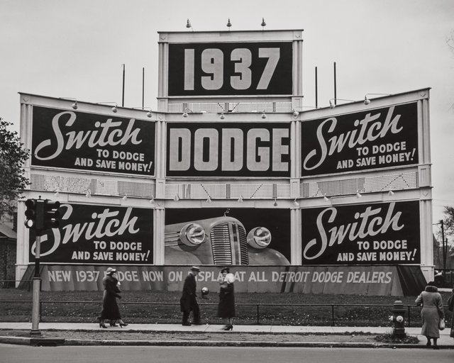 John Gutmann, 'Switch to Dodge, Detroit', 1936, Heritage Auctions