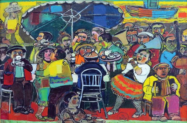", '""Outdoor Café"" / ""Gazino"",' 2015, Galeri 77"