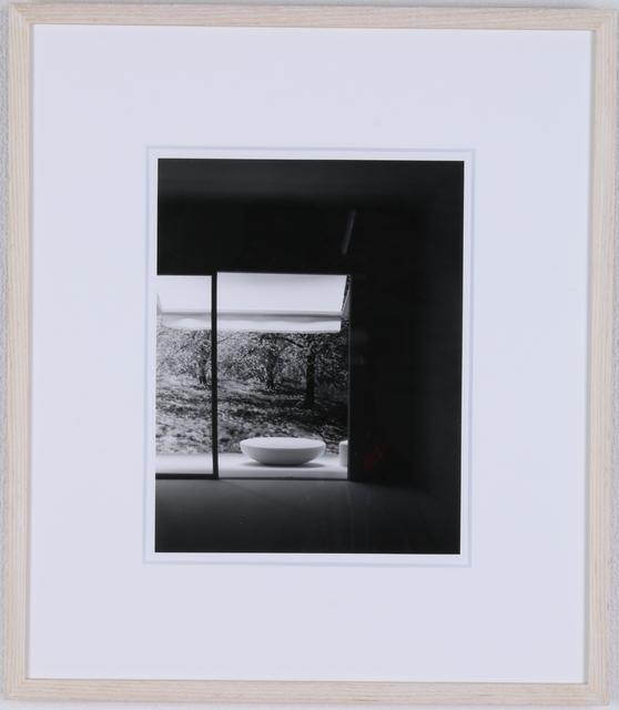 , 'awning and oval table ,' 2006, Kamakura