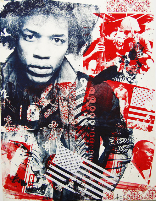 "Ashleigh Sumner, '""Hendrix""', 2017, Print, Ink on Paper, Julie Zener Gallery"