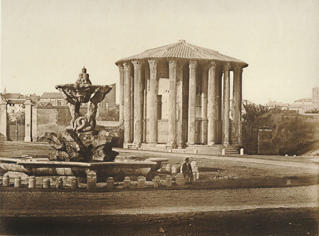 James Anderson, 'Temple of Vesta, Rome', 1852c, Contemporary Works/Vintage Works