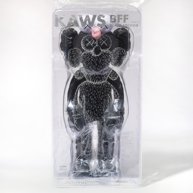 KAWS, 'Kaws BFF (Black)', 2017, Sculpture, Vinyl collectable, Tate Ward Auctions