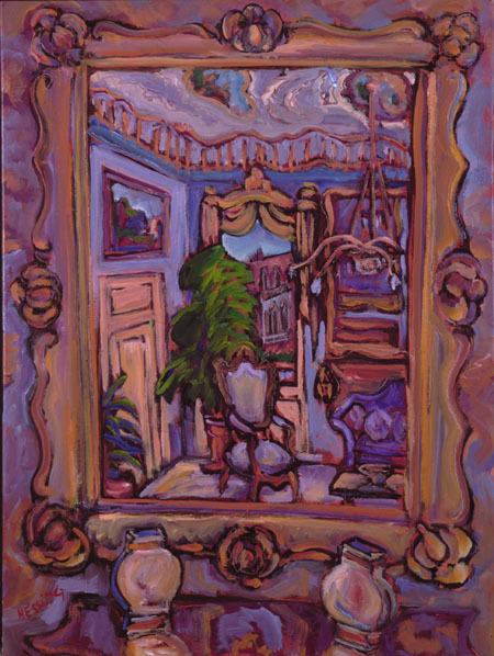 , 'Venetian Mirror,' 1998, Pucker Gallery