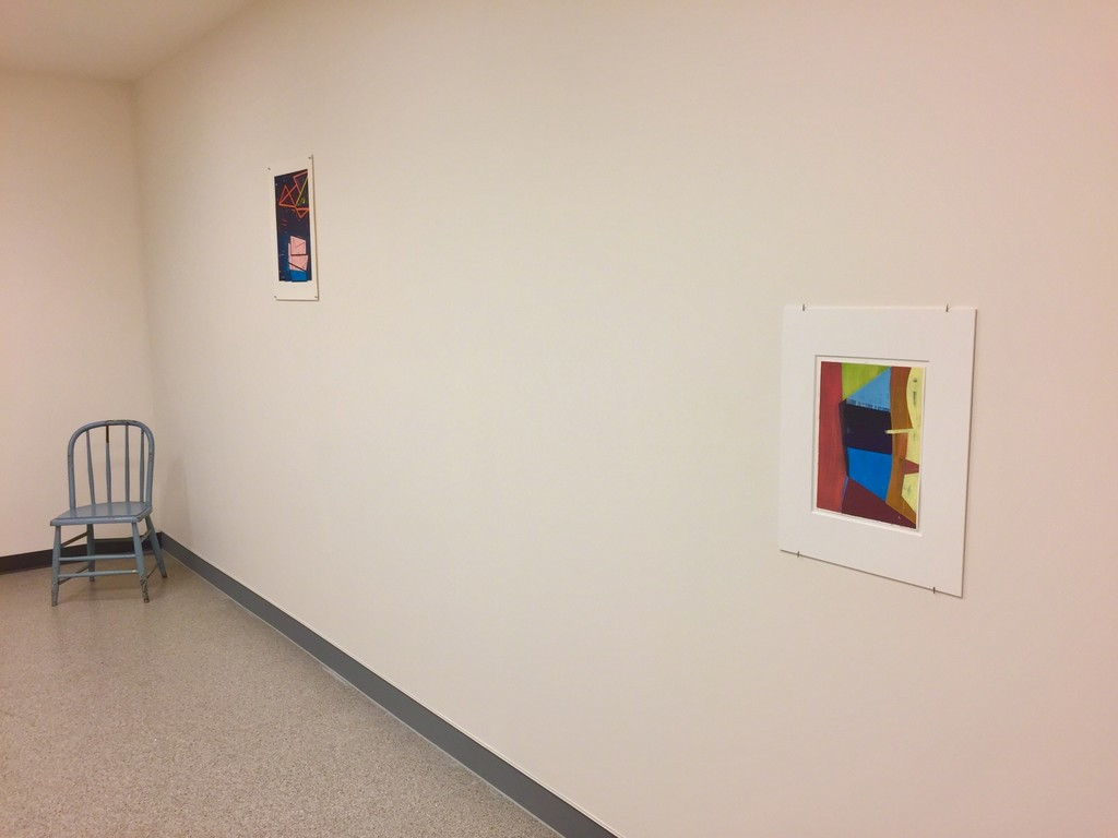 Installation view 4 – l to r,