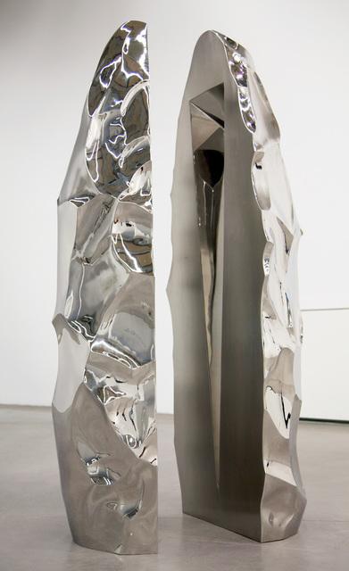 Yazid Oulab, 'Monolithe', 2012, Sculpture, Stainless steel, Galerie Loft
