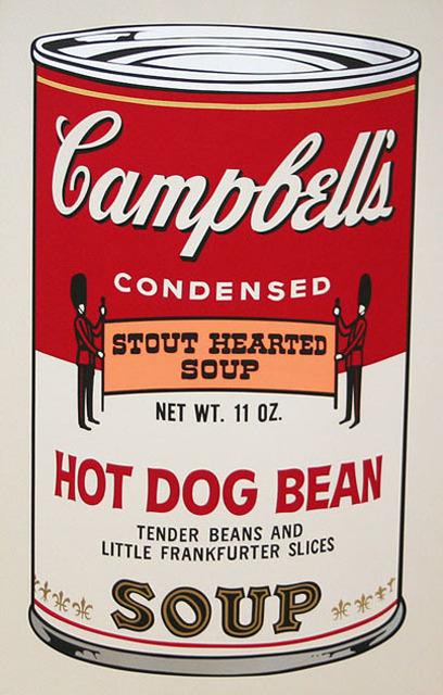 Andy Warhol, 'Campbell's Soup II, II.59 Hot Dog Bean ', 1969, Elizabeth Clement Fine Art