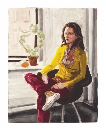 Elizabeth Peyton, 'Annette Greenwich St.', Christie's