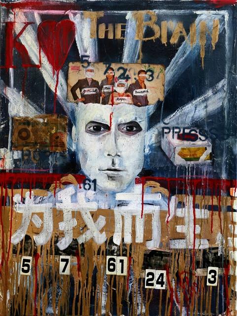 , 'The Brain,' 2018, Addicted Art Gallery
