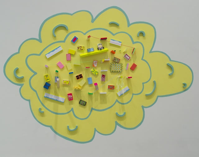 , 'A Gaggle of Painted Doohickeys,' 2014, Adah Rose Gallery