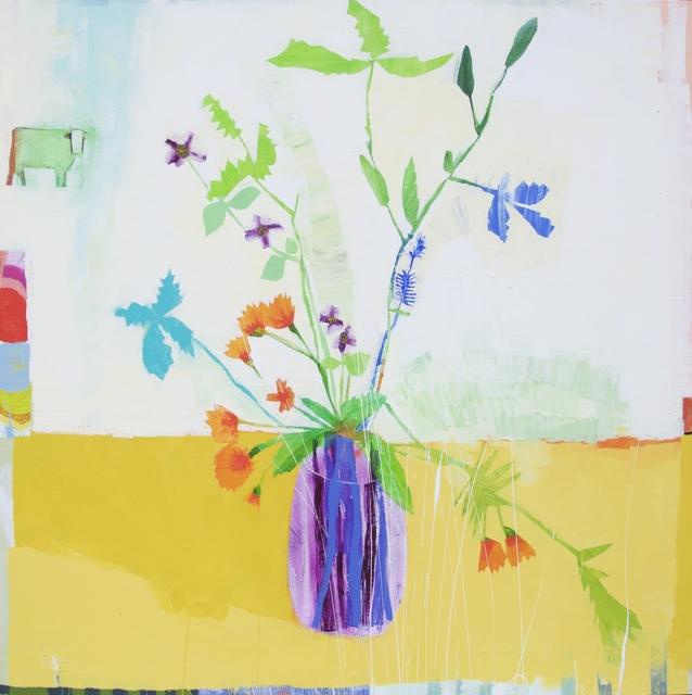 Wendeline S. Matson, 'Okra and Marigolds', 2016, M.A. Doran Gallery