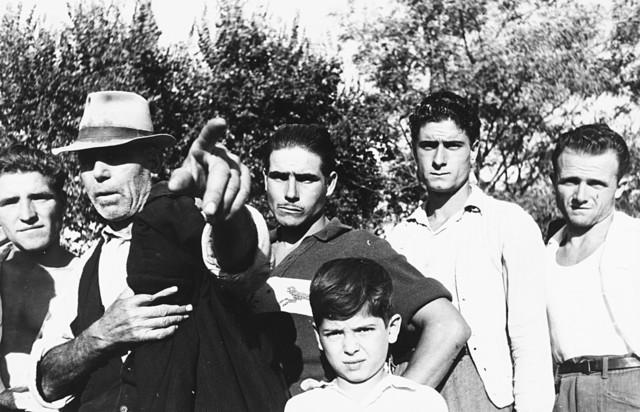 Federico Patellani, 'Contadini', years 1960, Finarte
