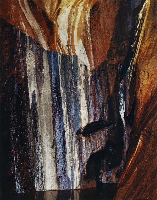 Eliot Porter, 'Water-streaked Wall, Warm Springs Canyon, Utah', 1965, Photography, Dye transfer print, Jackson Fine Art