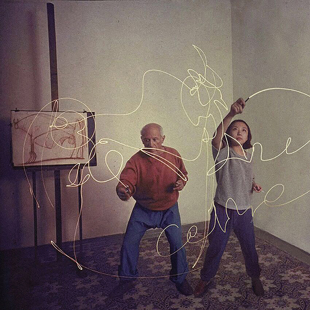 , 'Pablo Picasso & Celine Liu ,' 2015, MO-Industries