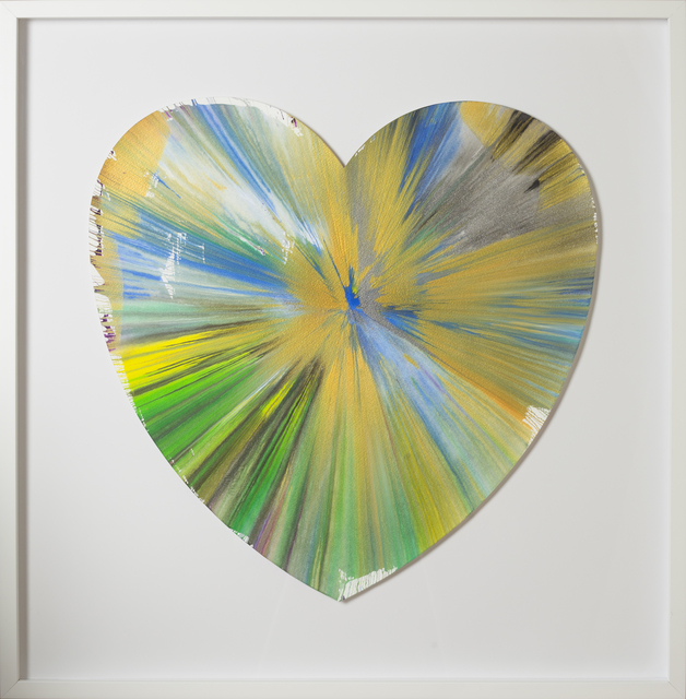 , 'Spin Painting - Heart,' 2009, RUDOLF BUDJA GALLERY