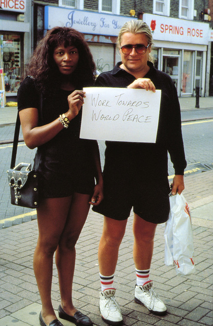 Gillian Wearing, 'Signs that say what you want them to say and not Signs that say what someone else wants you to say (Work towards world peace)', 1992-1993, Tanya Bonakdar Gallery