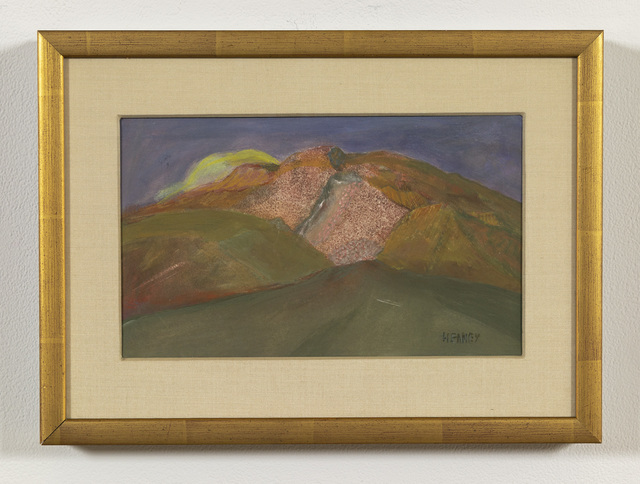 , 'Untitled (Gold Landscape),' ca. mid century, Russo Lee Gallery