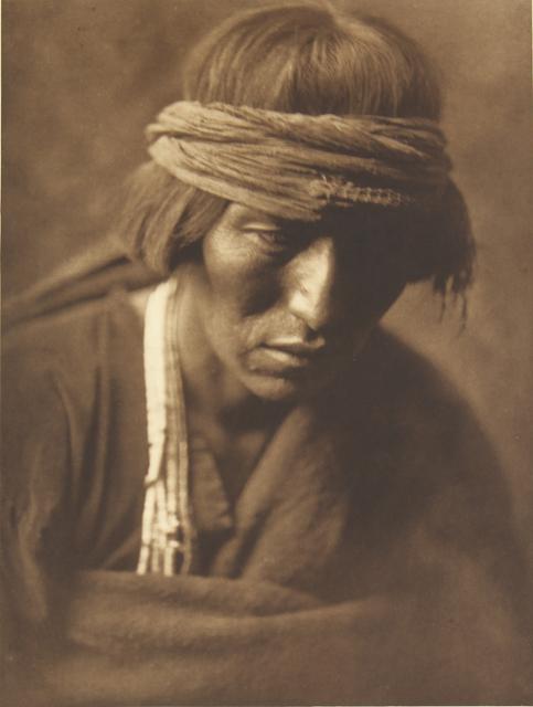 , 'Hastobiga - Navanho Medicine - Man,' 1907-1930, Empty Gallery