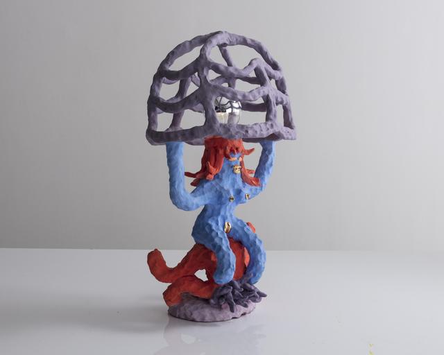 """, '""""Girl Lamp"""" in ceramic ,' 2017, R & Company"""