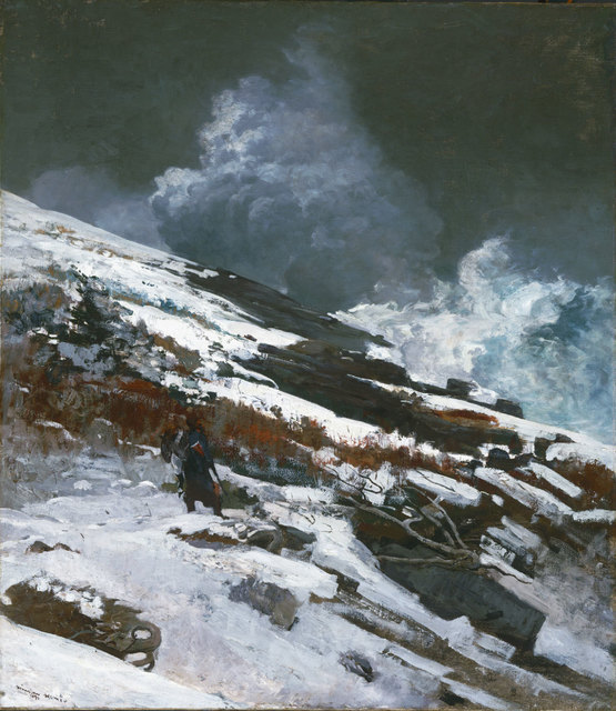 , 'Winter Coast,' 1890, Philadelphia Museum of Art