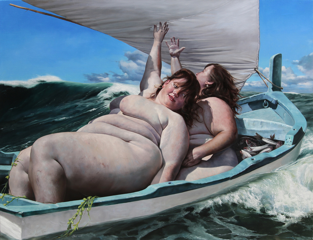 , 'Das Boot ist voll,' 2018, GALERIE BENJAMIN ECK