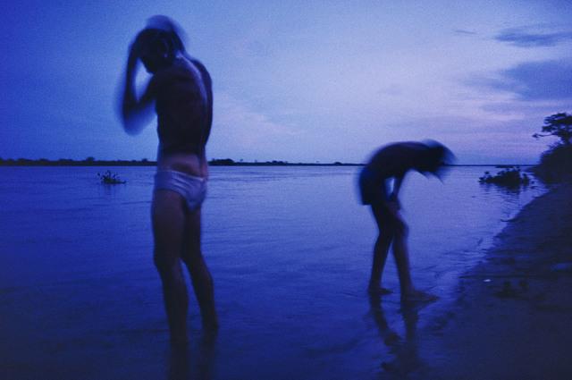 , 'Bathing. Alto Paraguay. PARAGUAY,' 1990, Magnum Photos