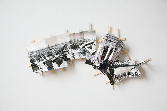 , 'Aerial Paris,' 2017, Dominik Mersch Gallery
